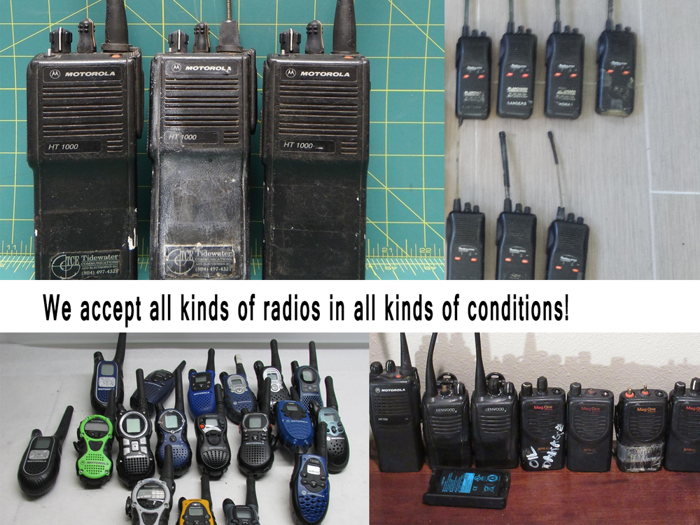 cash for clunkers for two-way radios