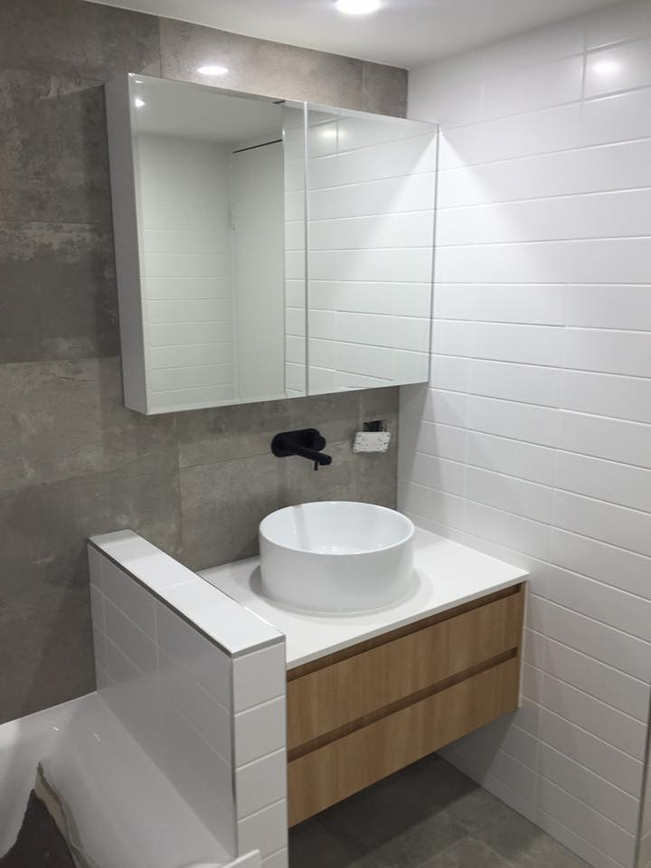 Maroochydore bathroom laundry cabinets the cabinet for Bathroom designs companies