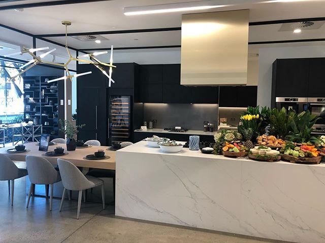 At @laminexau the hive!! Amazing inspiration and design. Definitely worth a visit. #sunshinecoast #kitchen #sydney #cabinetmaker #awisa2018 #luxurydesign #interiordesign