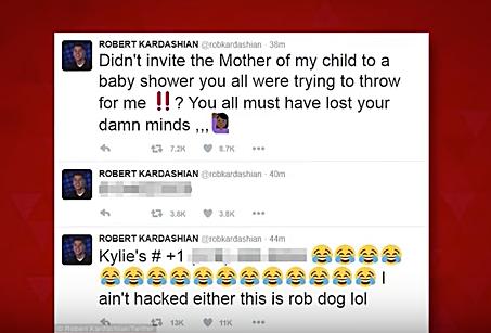 Rob Kardashian twitter screen shot