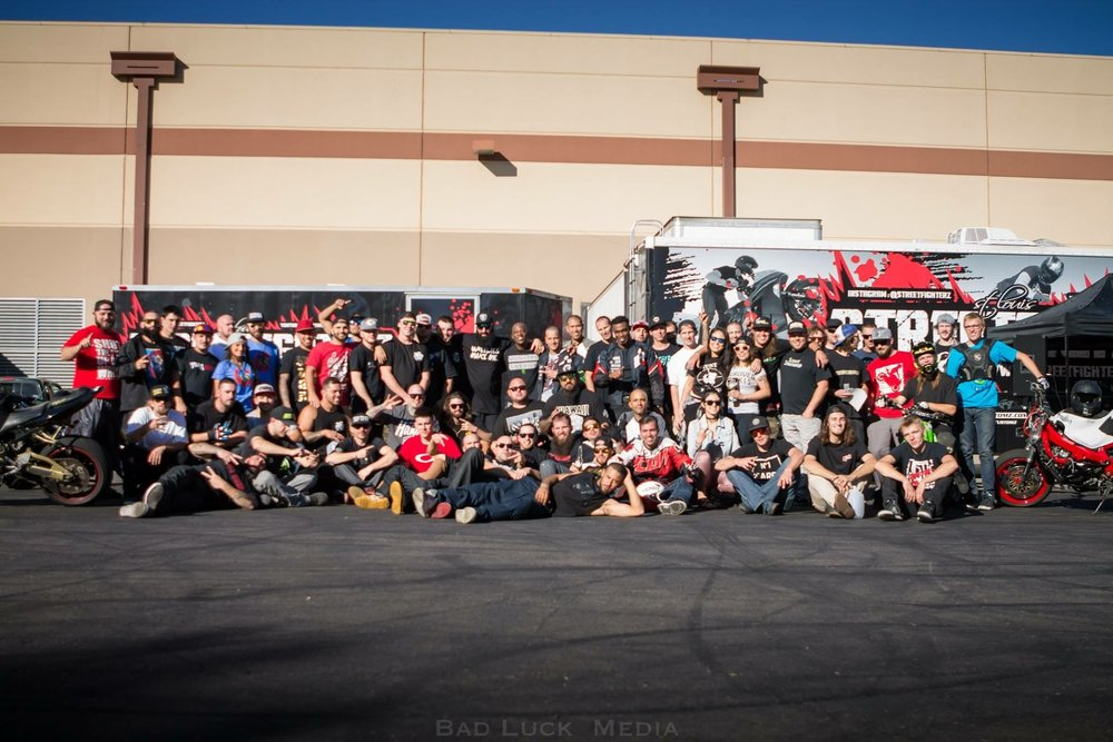 AZ Beat the Heat lot session group photo - Shout out to BRUP for hosting such a great event!