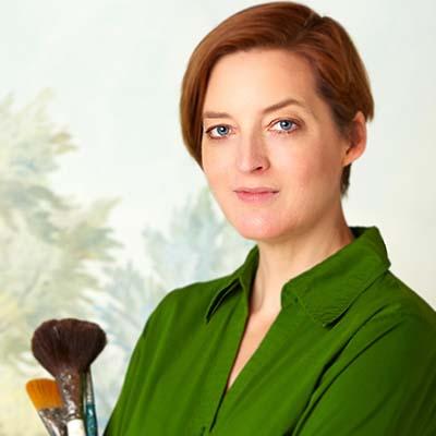 Muralist Susan Harter