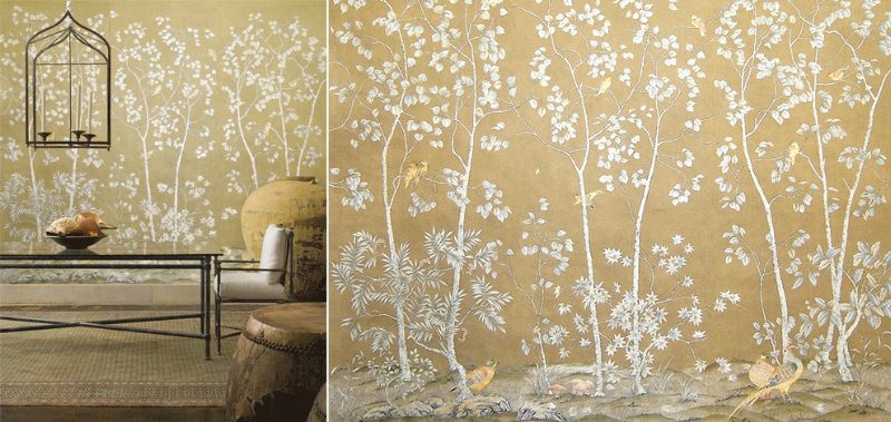 A nice neutral wallpaper by Paul Montgomery Studios.