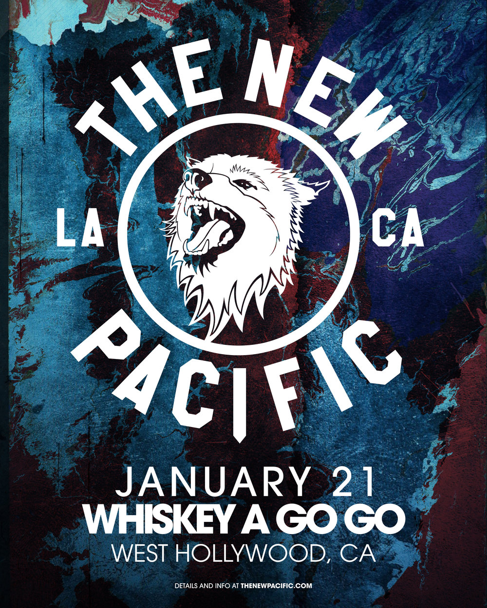 The New Pacific - The Whiskey A Go Go