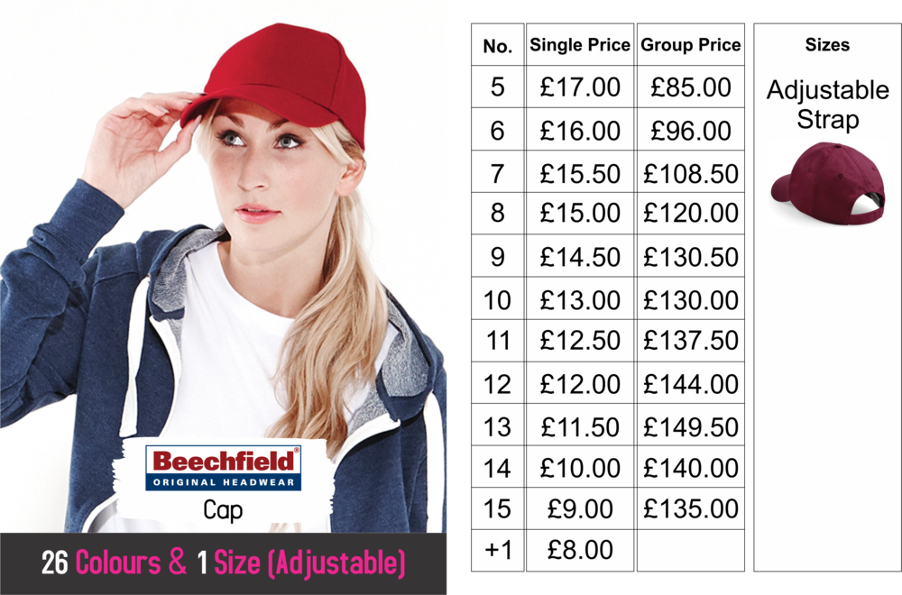 Stag & Hen night Beechfield Cap Size.png