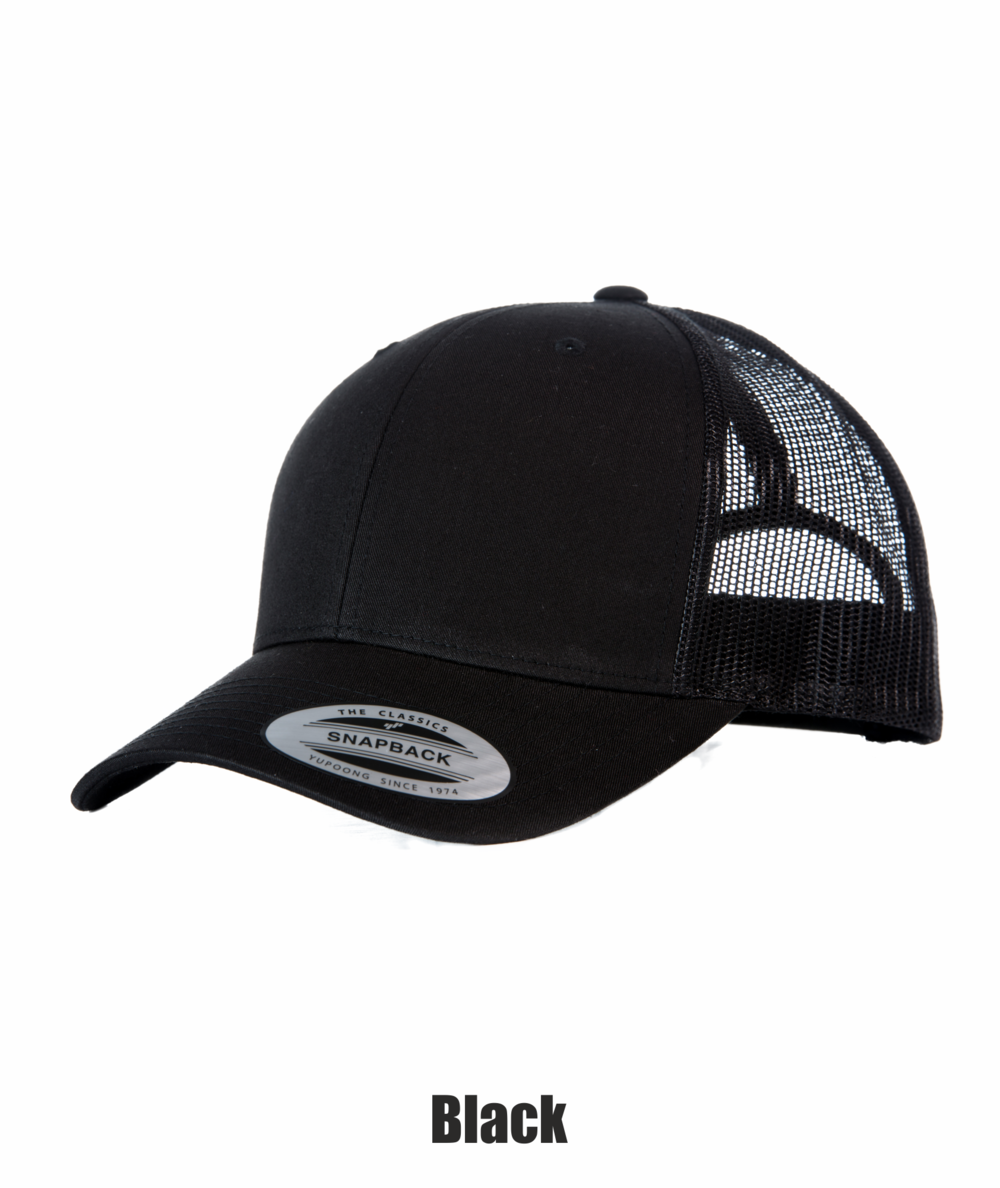 4dc60f97e11220 Yupoong Retro Trucker Cap — Stitch to Stitch - Same Day Embroidery ...