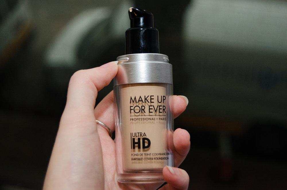 Design of the liquid foundation's bottle