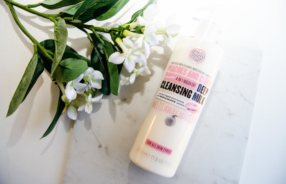 Soap & Glory's Peaches and Clean Deep Cleansing Milk