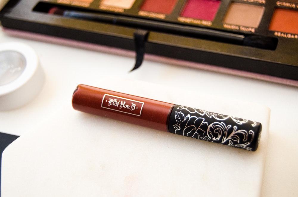 Kat Von D Everlasting Liquid Lipstick mini in Plath