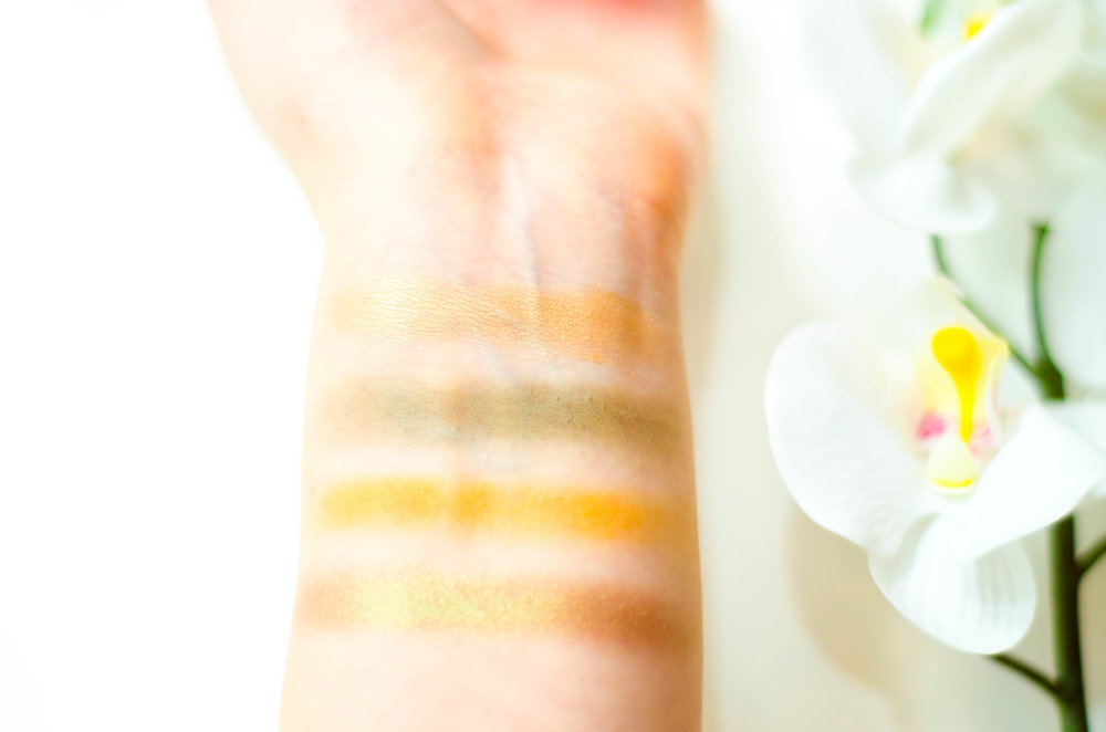 Swatches top to bottom: Just in Time, Team Captain, Paper Tiger, Sideline