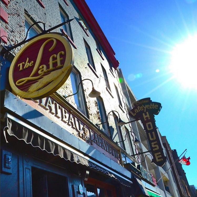 THE LAFF   42 York Street   thelaff.ca