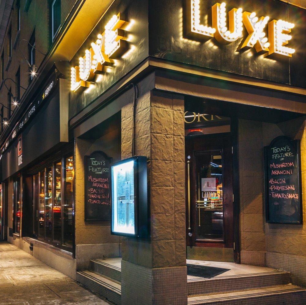 LUXE bistro   47 York Street   luxebistro.com