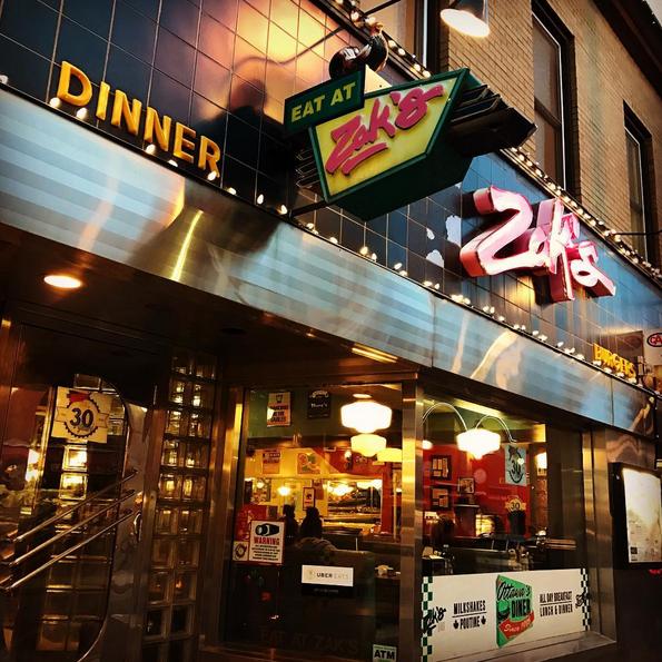 ZAK'S DINER   14 Byward Market Square   zaksdiner.com