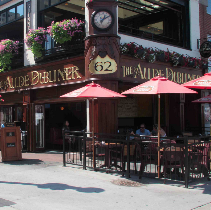 AULDE DUBLINER   62 William Street   heartandcrown.pub/aulde