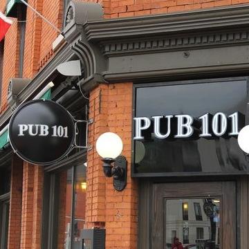 PUB 101   101 York Street   pub101.com