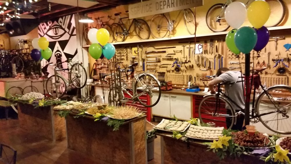 Velo Cult Bike Shop Event - NE PDX