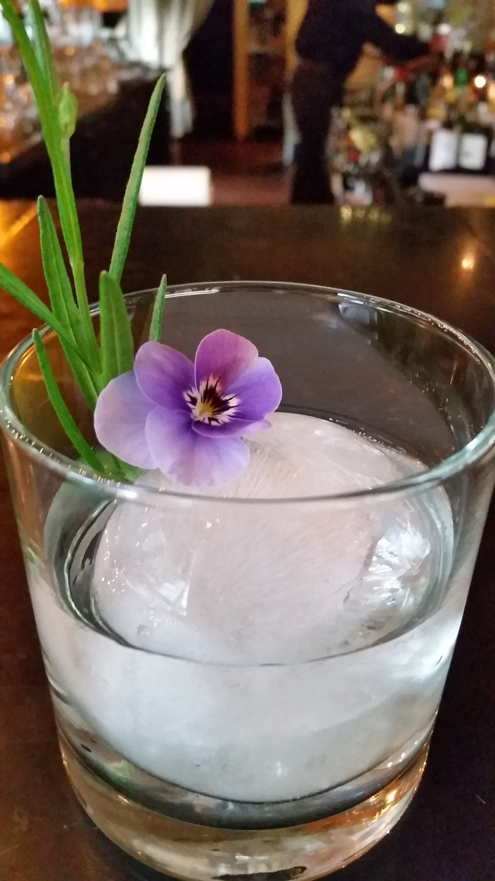 "Lavender infused vodka  ""Purple Haze"""