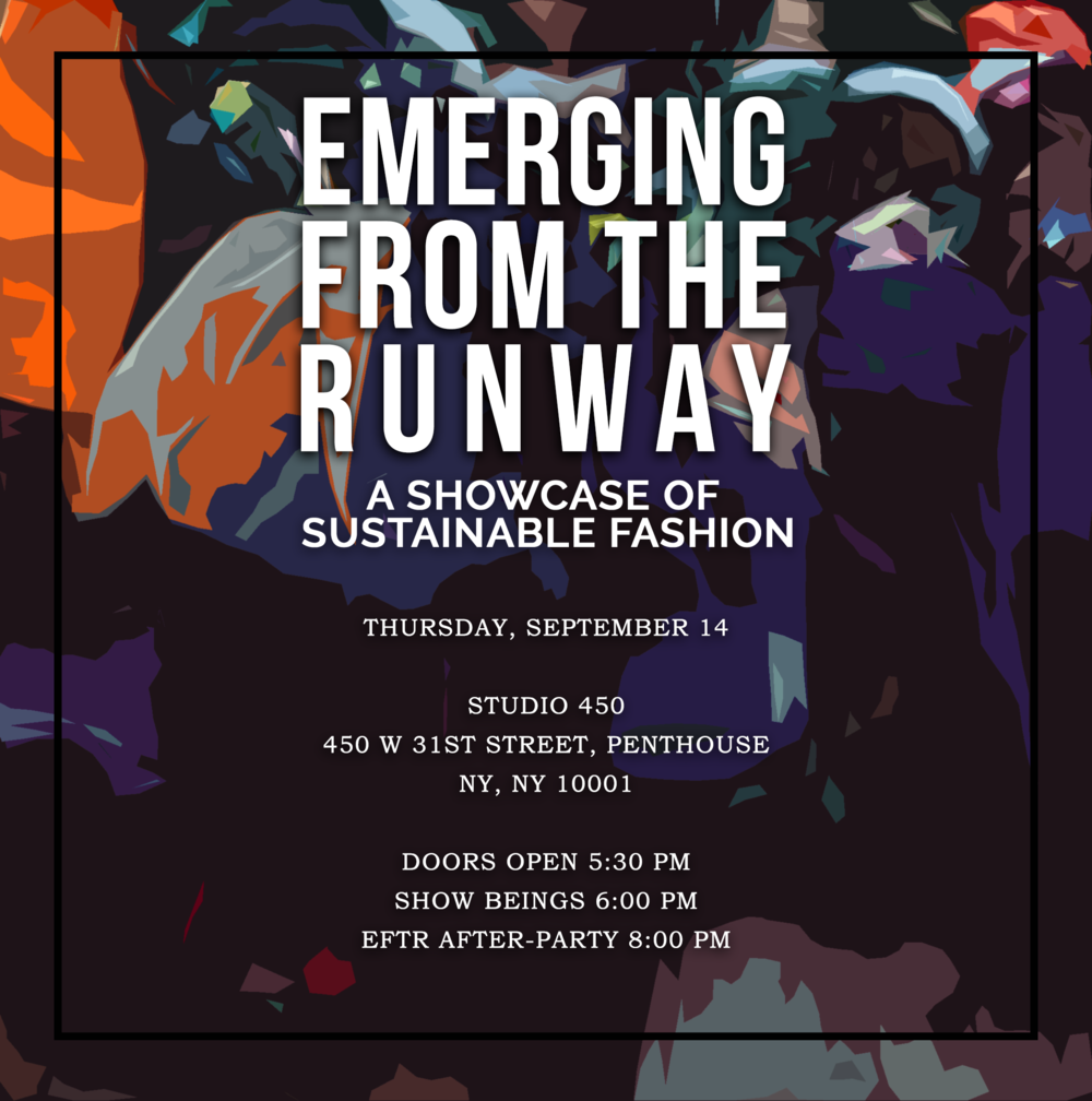 Gift Bag Inclusion! - Perry Boyce is a Proud Sponsor of Emerging From The Runway: A Showcase of Sustainable Fashion.