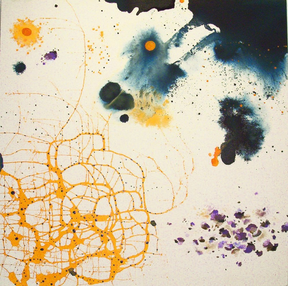 Wickedary  , 2001, Acrylic on canvas, 58 x 58 in.