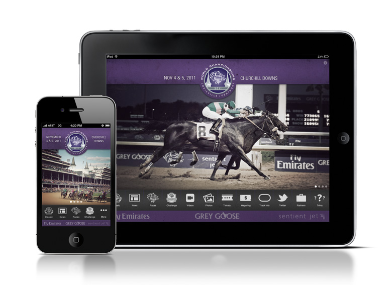 2011 Breeders' Cup Mobile Experience