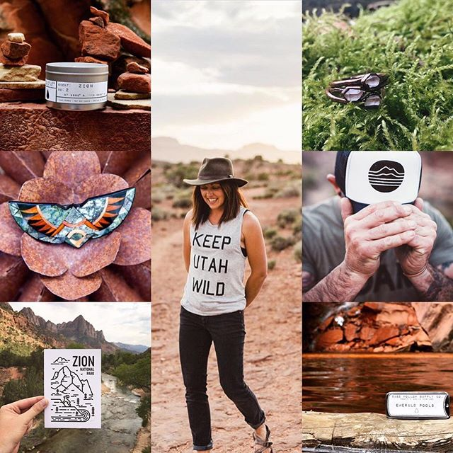 ||| GIVEAWAY ||| Nothing says summer like a trip to one of our national parks, so to celebrate, we've teamed up with some of our friends to bring you this Zion National park themed giveaway!  THE GIVEAWAY: - Zion scented candle from @sagehollowsupply - Vintage Southwest inlaid barrette from @parkstvintage - Zion National Park 8x10 print from @madebyfell - Keep Utah Wild tank from @holdfastoutfitters - Herkimer electroformed diamond ring from @olivedeer - Lucky hat from @holdfastoutfitters - Emerald Pools solid perfume from @sagehollowsupply  THE RULES:  1. Follow @sagehollowsupply, @madebyfell, @parkstvintage, @olivedeer, + @holdfastoutfitters 2. Comment below + tag a friend who loves the national parks as much as you, multiple entries are just fine 3. The giveaway will close on Friday, July 21 at midnight 4.The winner will be announced Sunday, July 23  Happy trails + good luck!