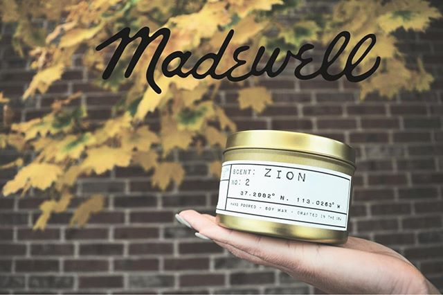 Fall 🍁pop-up event with @madewell this Friday night from 6-8pm at their City Creek Store stop by for sweet treats & a great SALE only at this location!! Our new seasonal pumpkin spice candle will be there waiting for you 🎃 #fall #pumpkinspice #sale #localgoods #popupevent