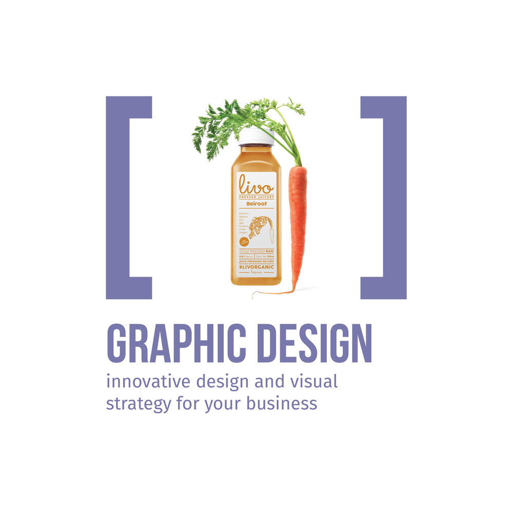 Graphic Design innovative design and visual strategy for your business