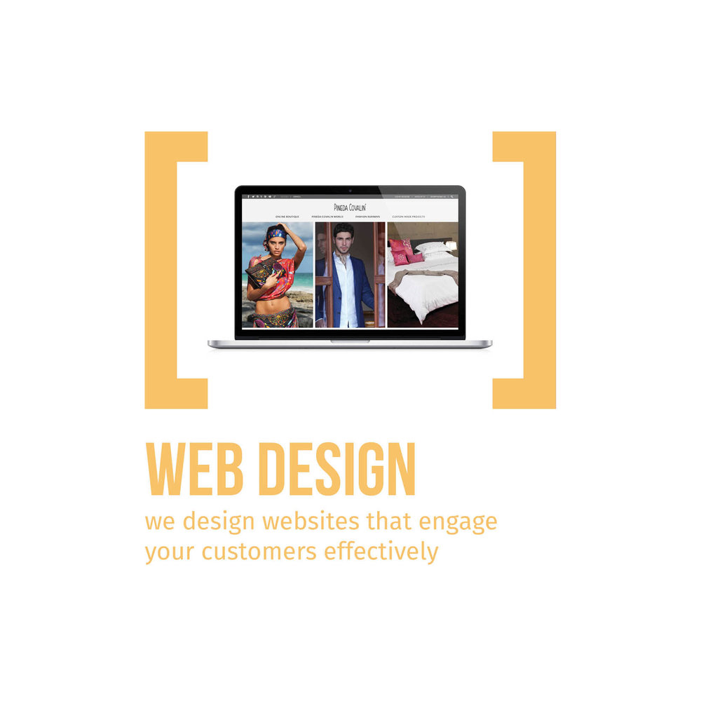 Web Design we design websites that engage your customers effectively