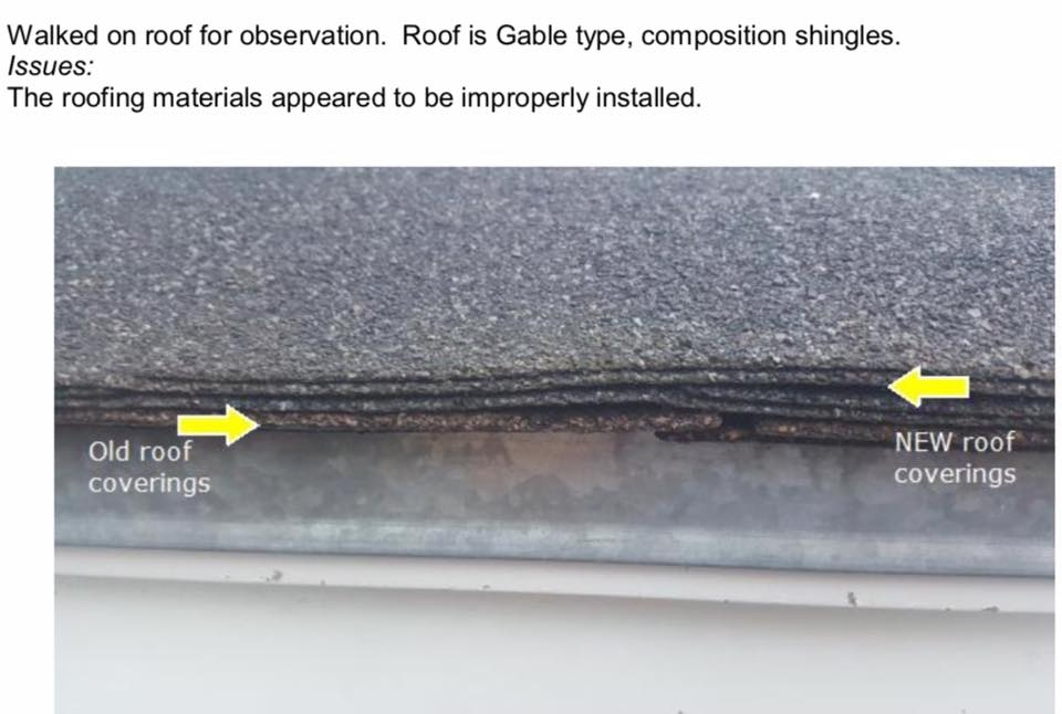 Brand new roof just put on your soon to be new home? Make sure it was done properly!