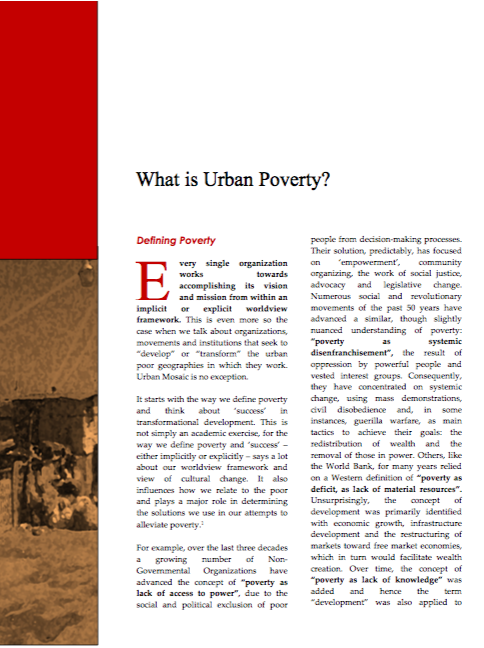 Read our white paper on defining poverty to learn more.