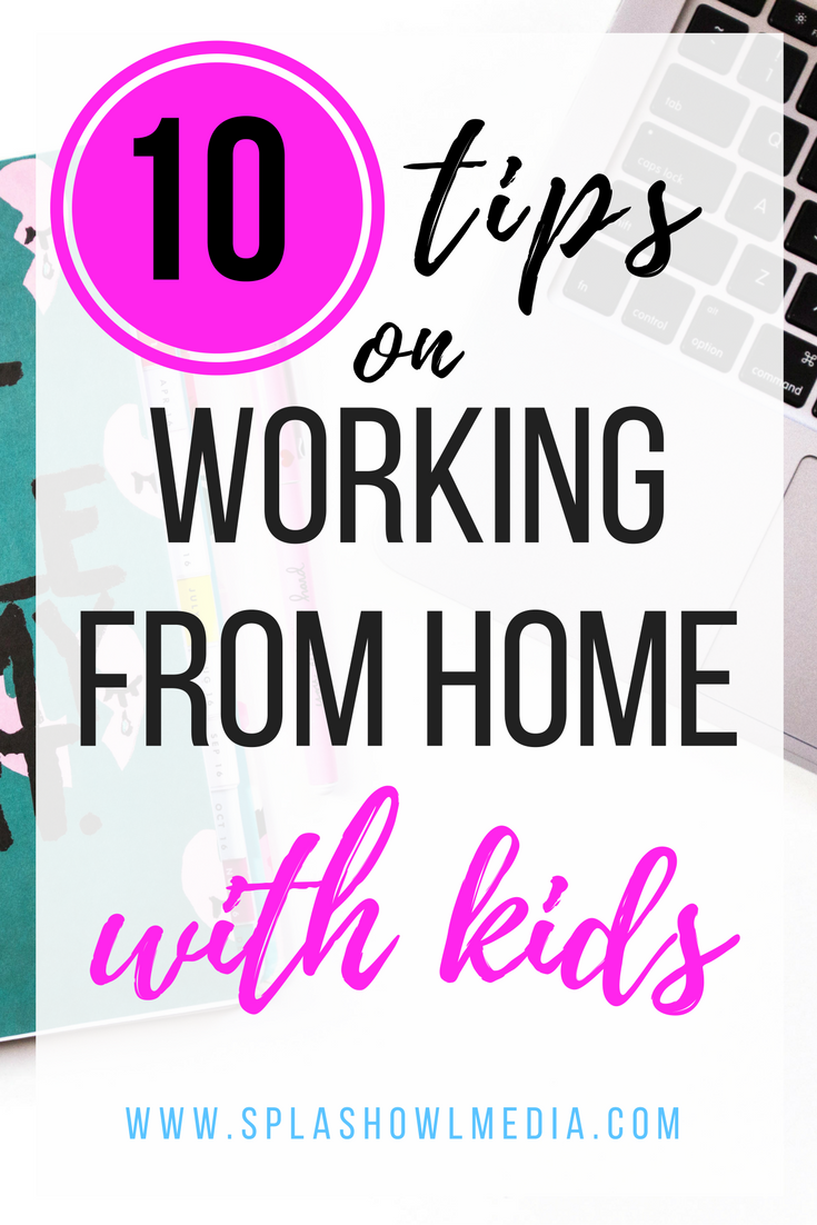 Keep your sanity while working at home with kids.