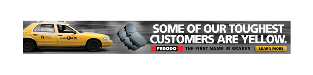 Ferodo Brake Pads - Integrated Campaign — bill aitchison