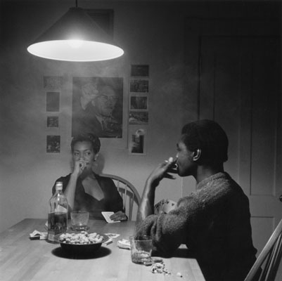 Kitchen Table Series, Untitled (Man Smoking), Carrie Mae Weems