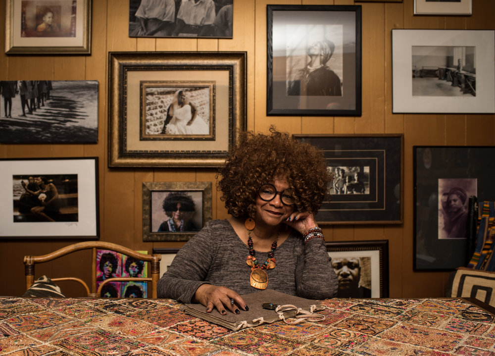 Jaki Shelton-Green was nominated North Carolina's first African-American Poet Laureate.