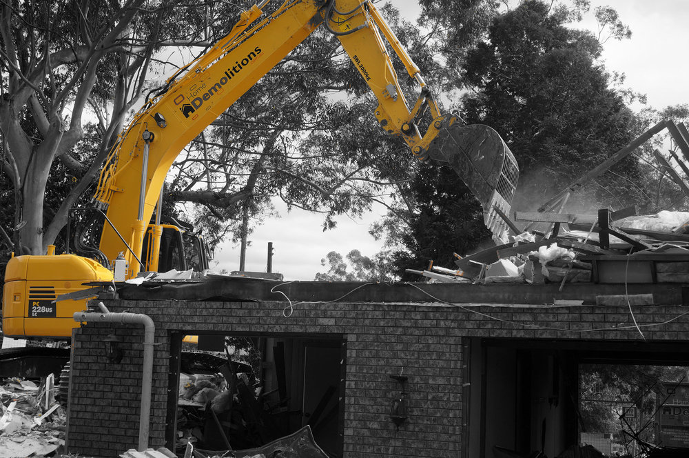 Copy of Home Demolitions