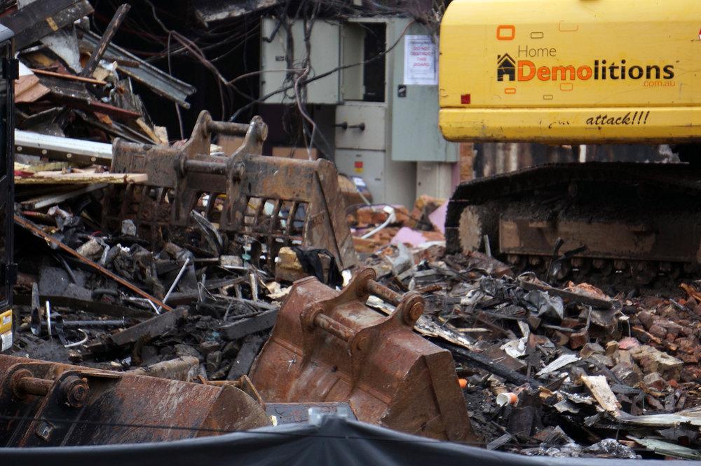 Katoomba Demolition RSL Fire