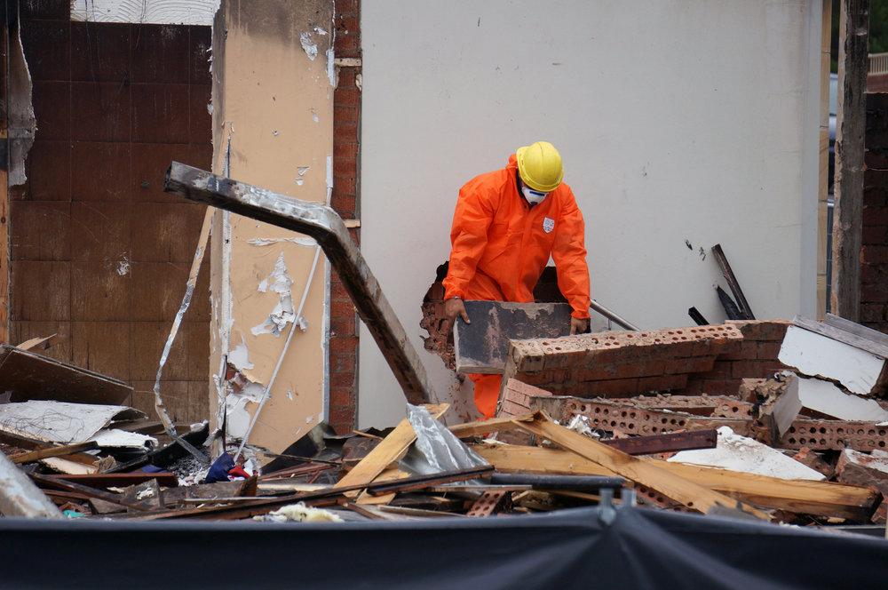 Katoomba RSL Plaque Demolishing salvage