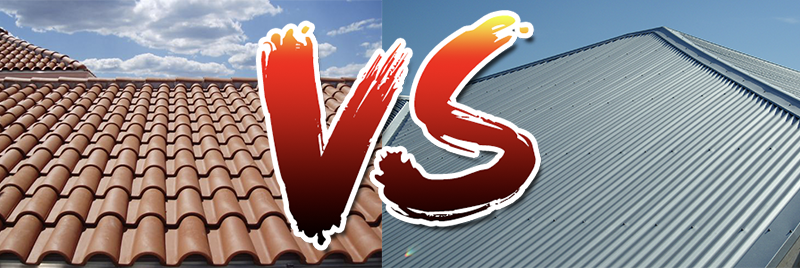 Tiles vs. Tin: Which roof reigns supreme?