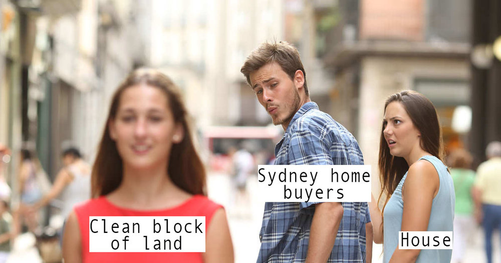 A daigram explaining the current state of the Sydney property market.