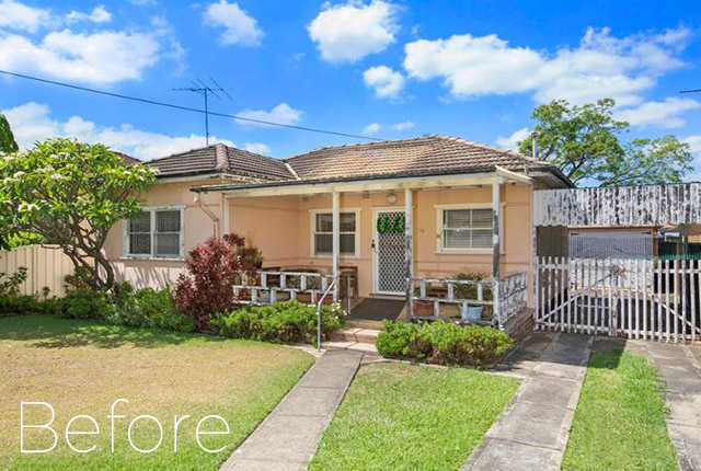 Canley Heights before demolition, NSW, 2166