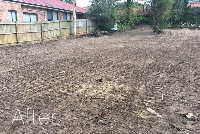Forestville after demolition, NSW, 2087