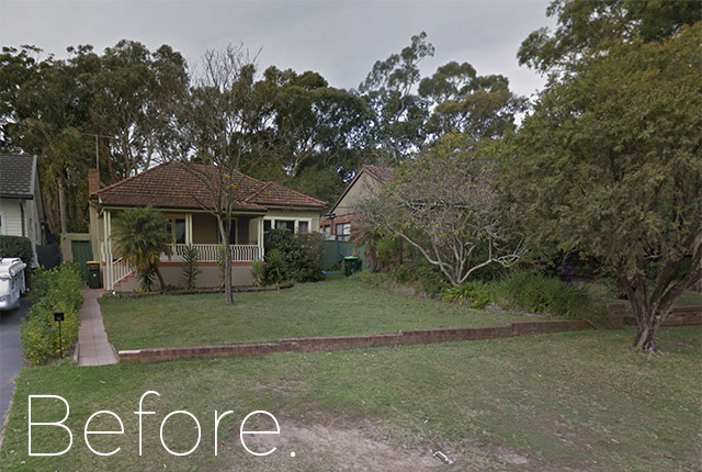 House in Caringbah before demolition, NSW, 2229