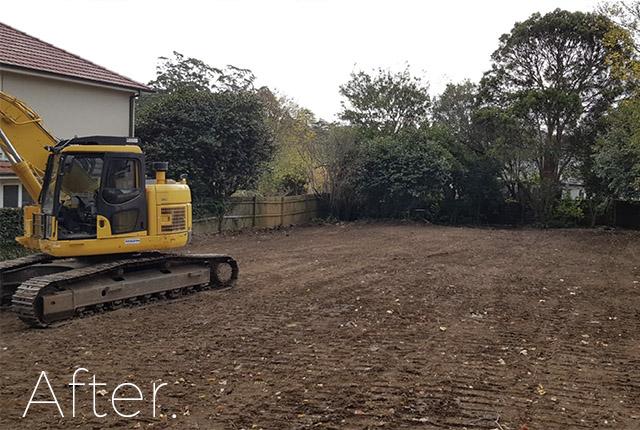 Bradbury after demolition, NSW, 2560