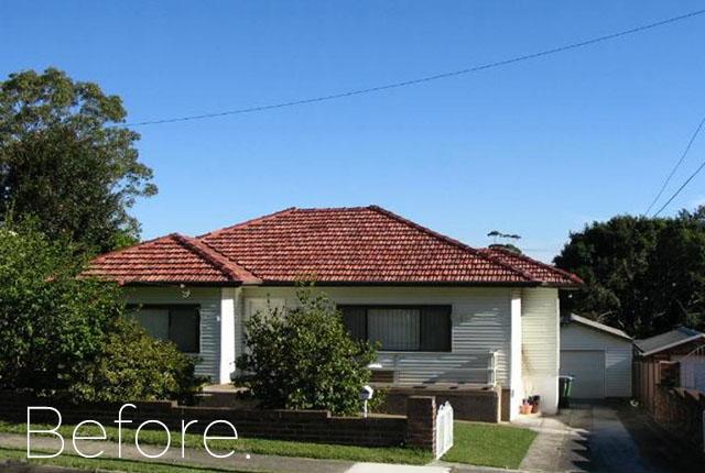 Forestville before demolition, NSW, 2216