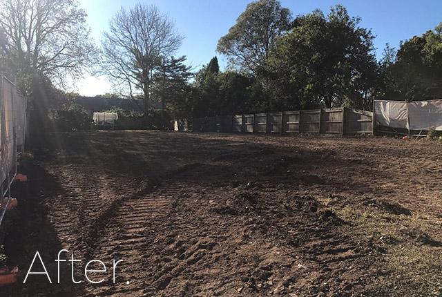Narellan after demolition, NSW, 2567