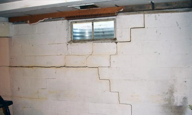 Significant Damage To a Foundation Wall