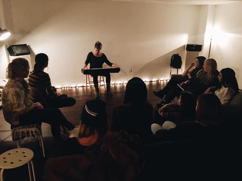 Molly Blodgett sharing new work.