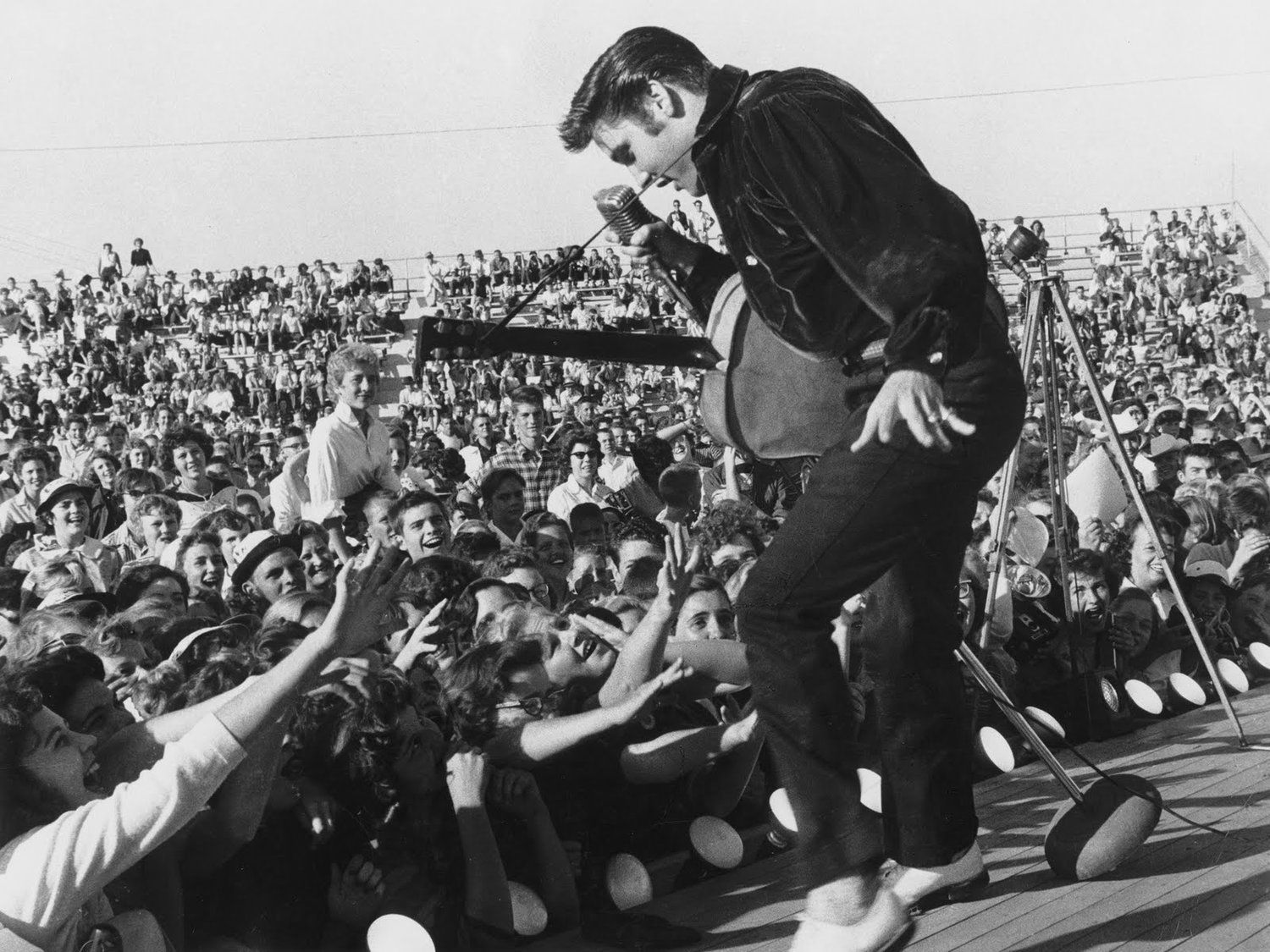 Rock & roll adapted the script of Pentecostalism