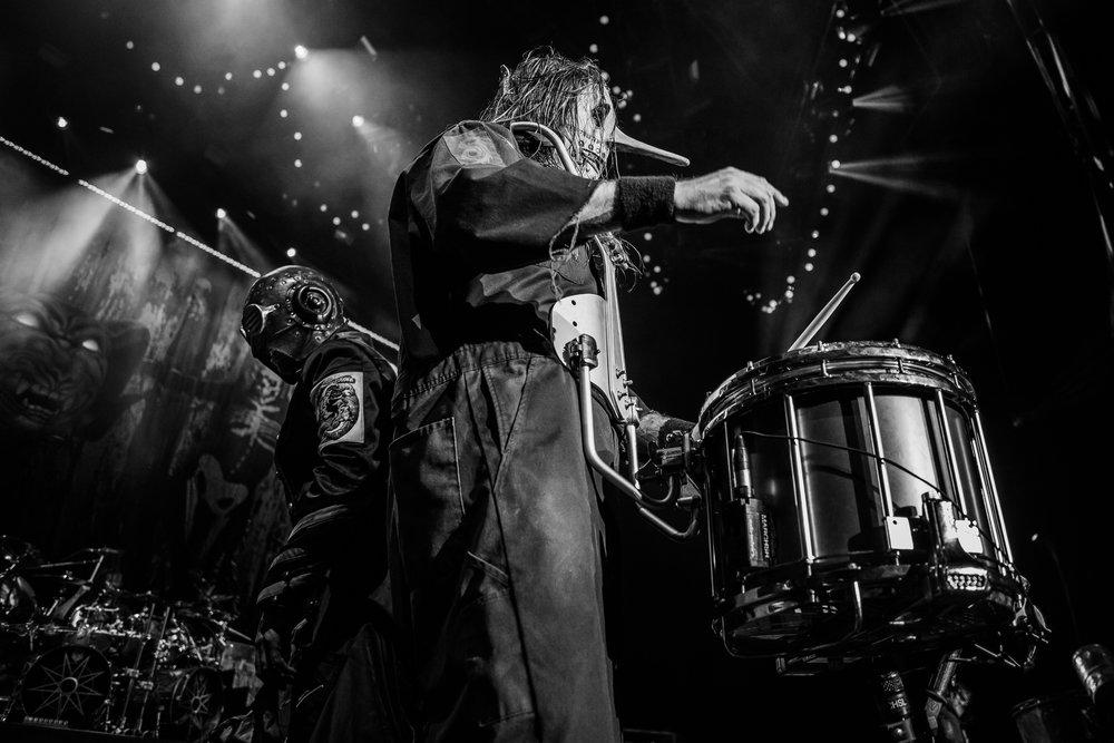 (#0) Sid Wilson & (#3) Chris Fehn | Slipknot