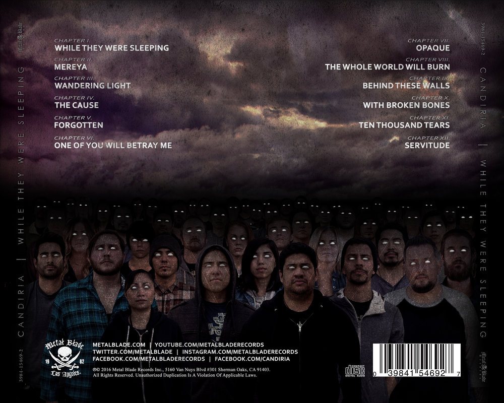 Tray Card - Back [CD]